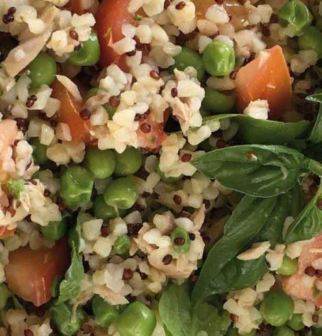 Bulgur e Quinoa: un'insalata veloce e fresca