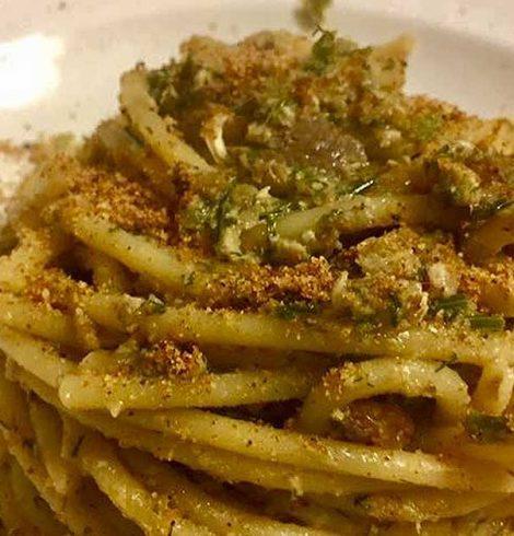 Bucatini con sarde: la ricetta di Franco Nicosia
