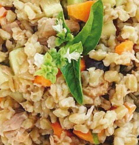 Insalata di grano: la ricetta di Maria Pia De Marzo