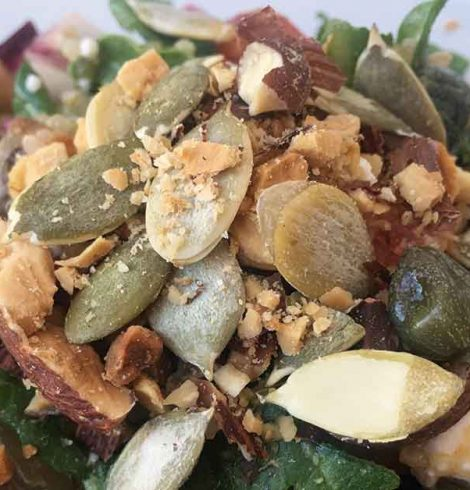 Insalata di quinoa croccante: la ricetta di Kate Spanti