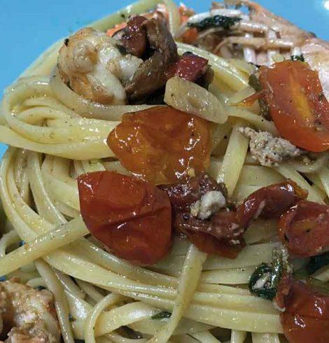 Linguine agli scampi: una ricetta estiva e raffinata