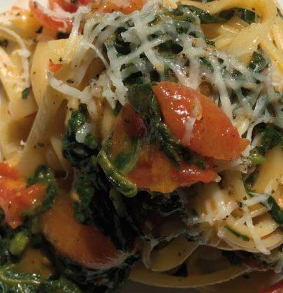 Pasta con i tenerumi asciutta, una ricetta siciliana