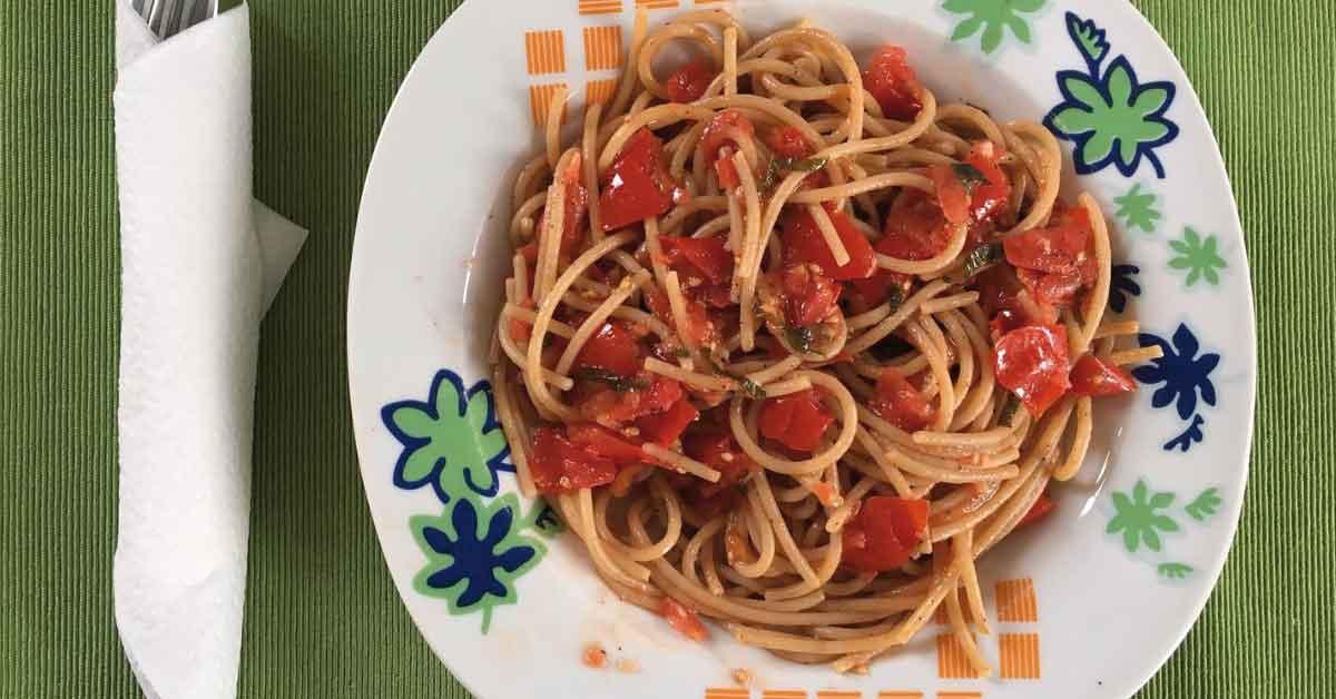 pasta-del-capitano-con-aglio-pomodoro-e-menta