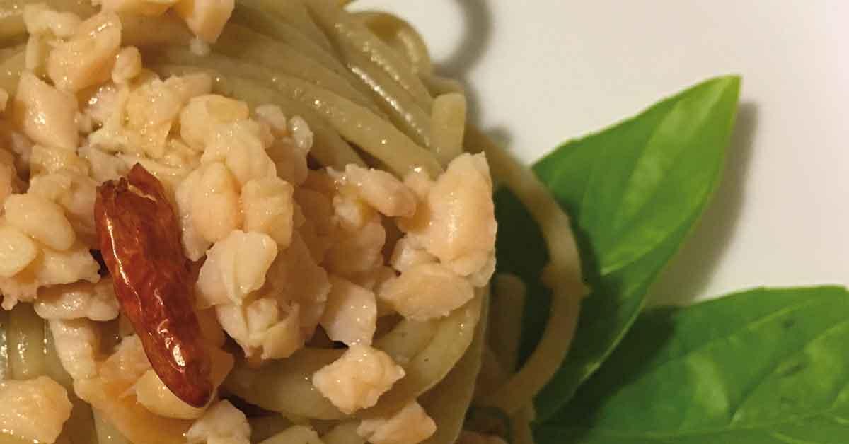 spaghetti al salmone piccanti