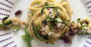 spaghetti-pistacchio-zucchine-e-gamberetti