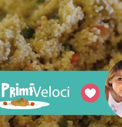 Cous cous con verdure e curry: la ricetta di Francesco e Sara
