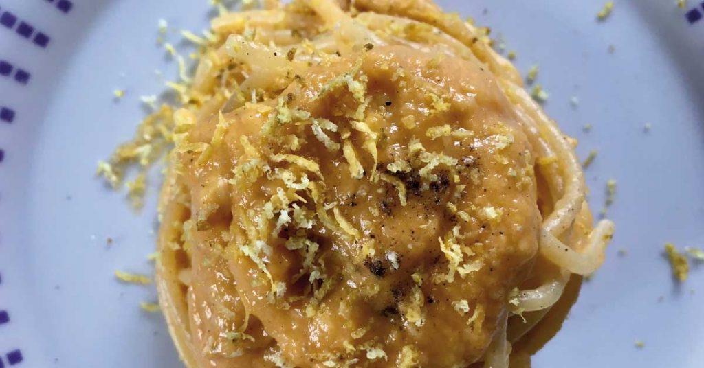 pasta-con-zucca-zenzero-e-gorgonzola