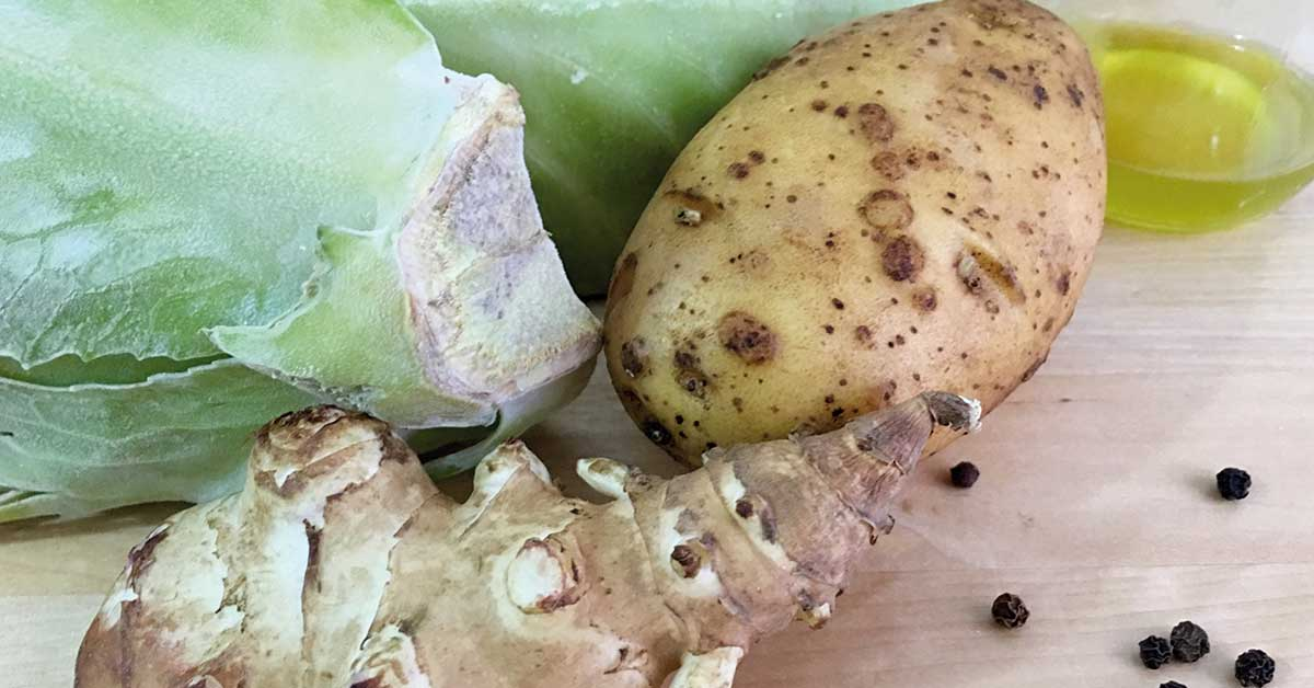 vellutata-di-cavolo-patate-e-topinambur-ingredienti