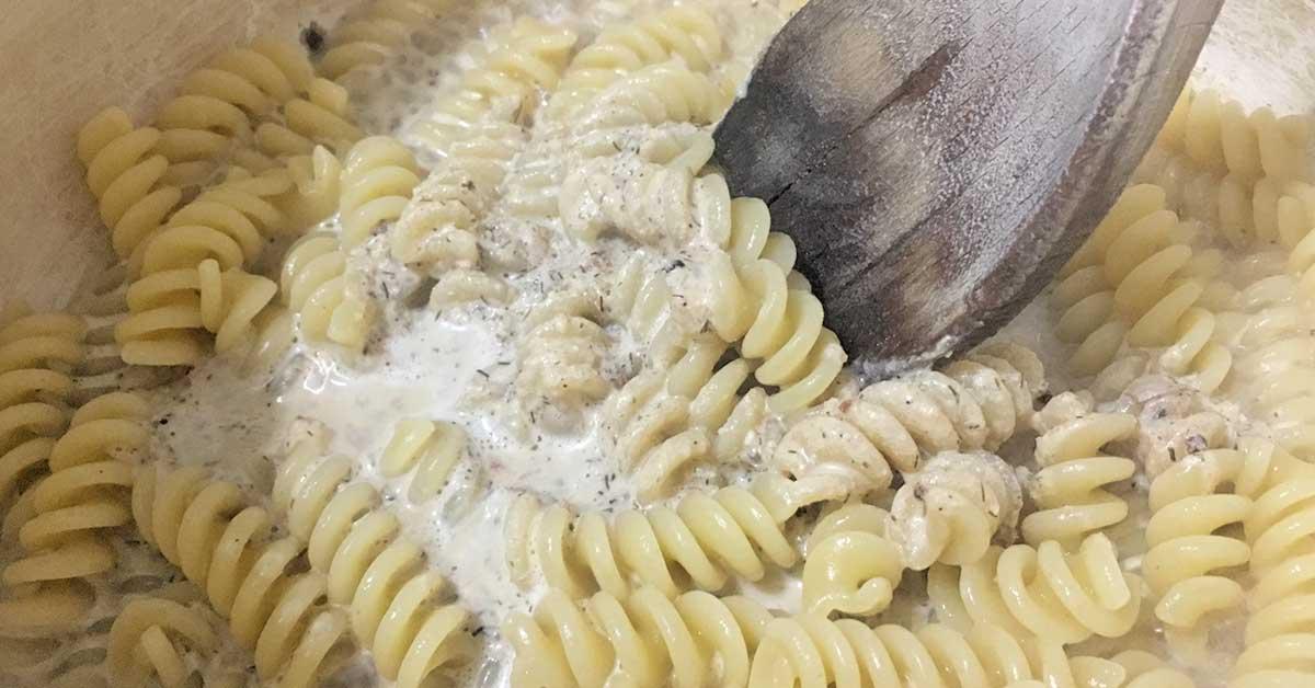 pasta con finocchietto e bottarga
