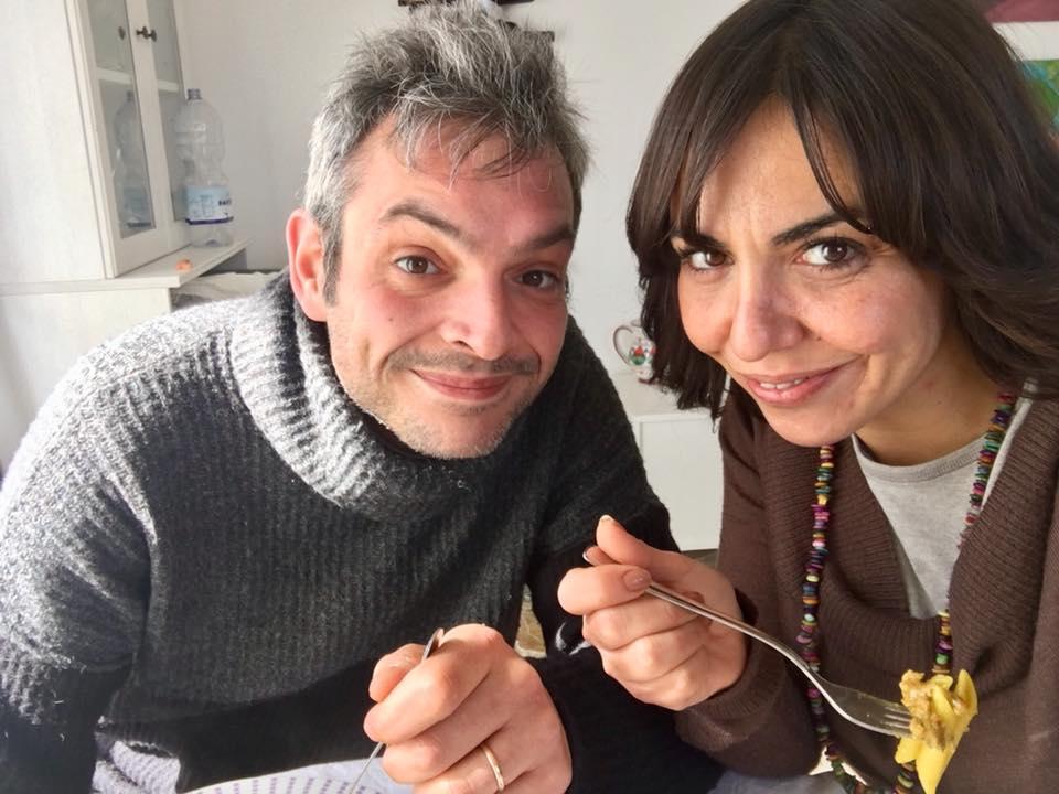 Giovanni e Marialuisa a pranzo