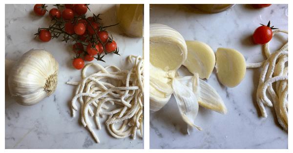 pasta all'aglione ingredienti